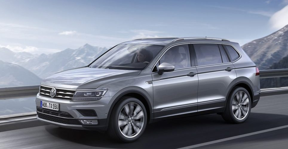 The seven-seat SUV Volkswagen Tiguan Allspace gives its awards
