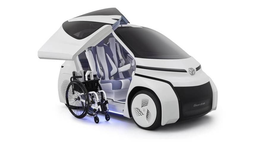 Toyota Unveils Concept-i Ride Without Steering Wheel