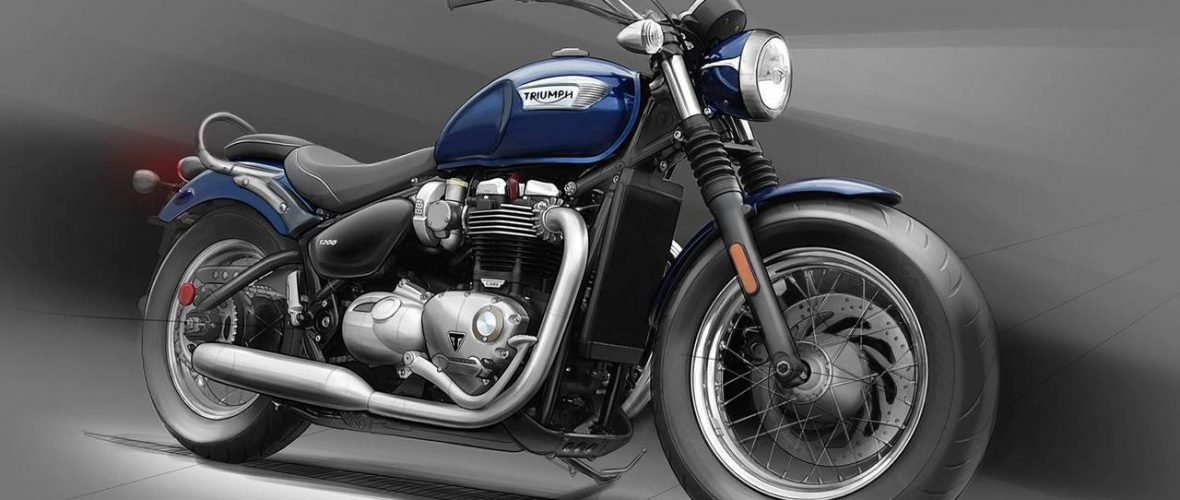 Triumph unveils Speedmaster and Bobber Black 2018