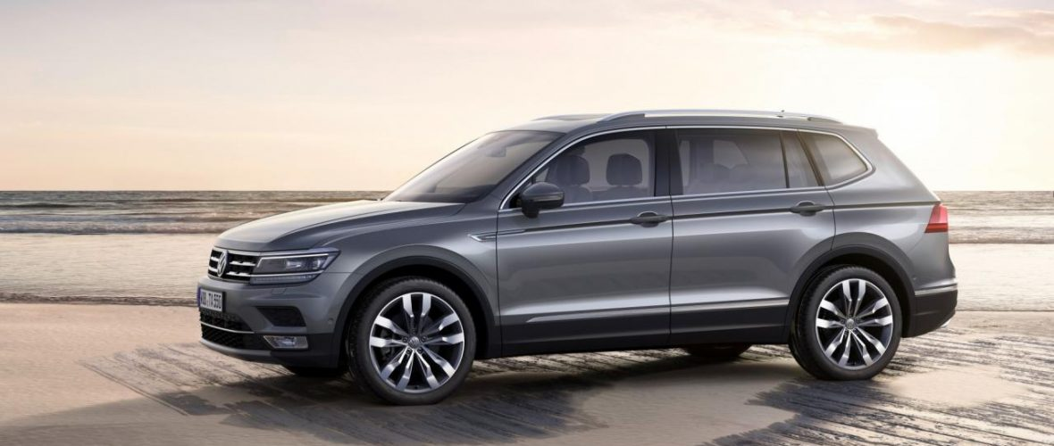 VW Tiguan Allspace Top Features, available from € 36,950