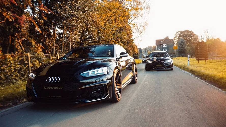 The new Audi RS 5 thrust at 500 hp by Manhart