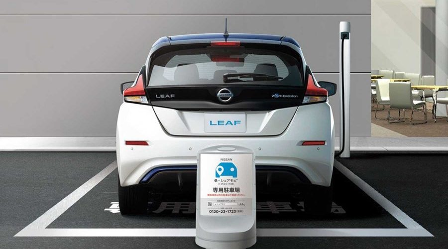 Nissan launches car-sharing service in Japan