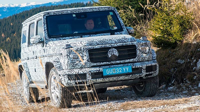 2018 Mercedes-Benz G-Class Detail and Update