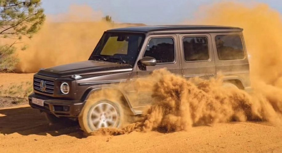 leaked photos Of 2019 Mercedes-Benz G-Class