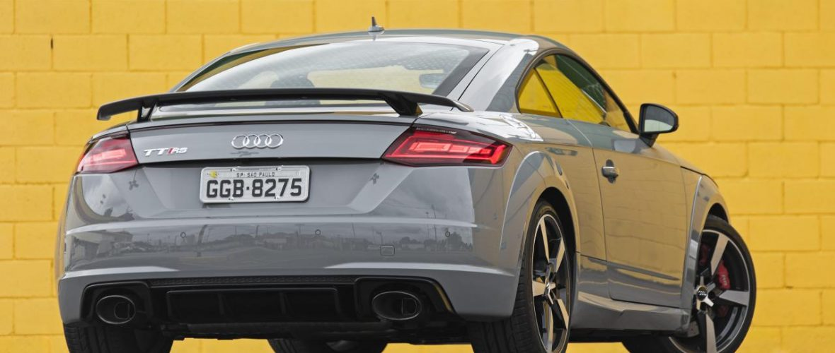 New Audi TT RS. 400 hp, 0 to 100 km / h in 3.7 seconds.