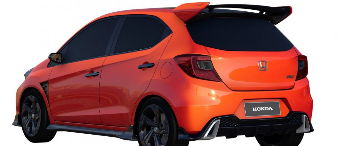The Honda Small RS Concept is aggressively cute