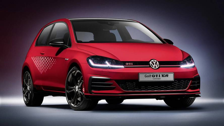 Volkswagen Golf GTI TCR Concept, The Ultimate GTI