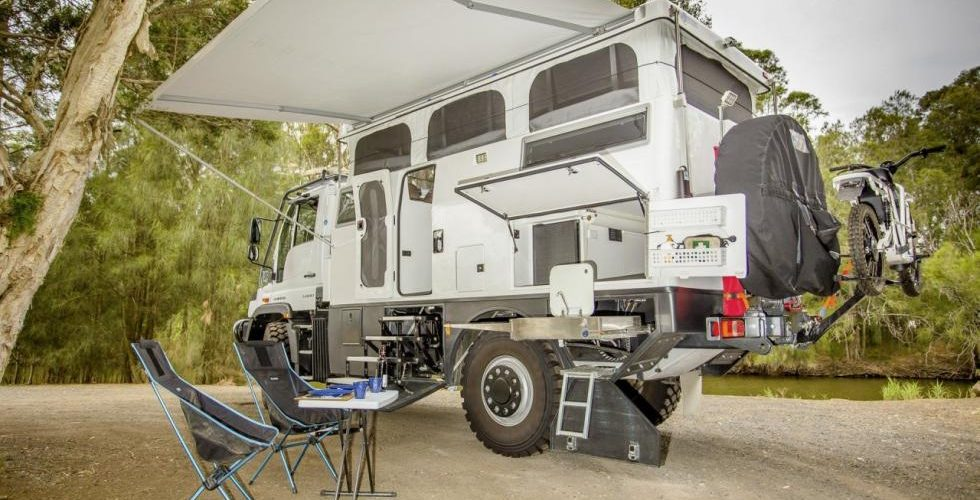 Earth Cruiser Explorer XPR440 the ultimate Unimog for Cruise The Earth