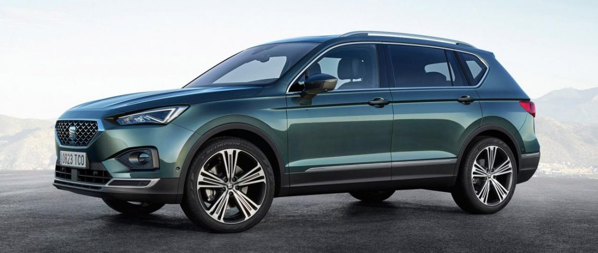 This is the new SEAT Tarraco SUV. The answer to the Skoda Kodiaq and Ford Edge