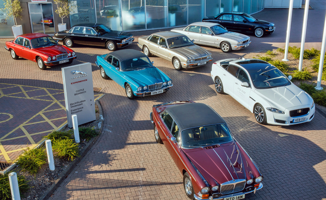 50th of the Jaguar XJ: a historic convoy goes to the Mondial de l'auto