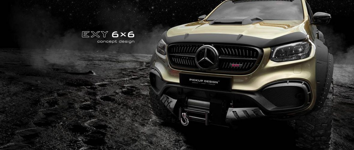 Exy 6x6 Concept Design - When the Mercedes Class X goes wild