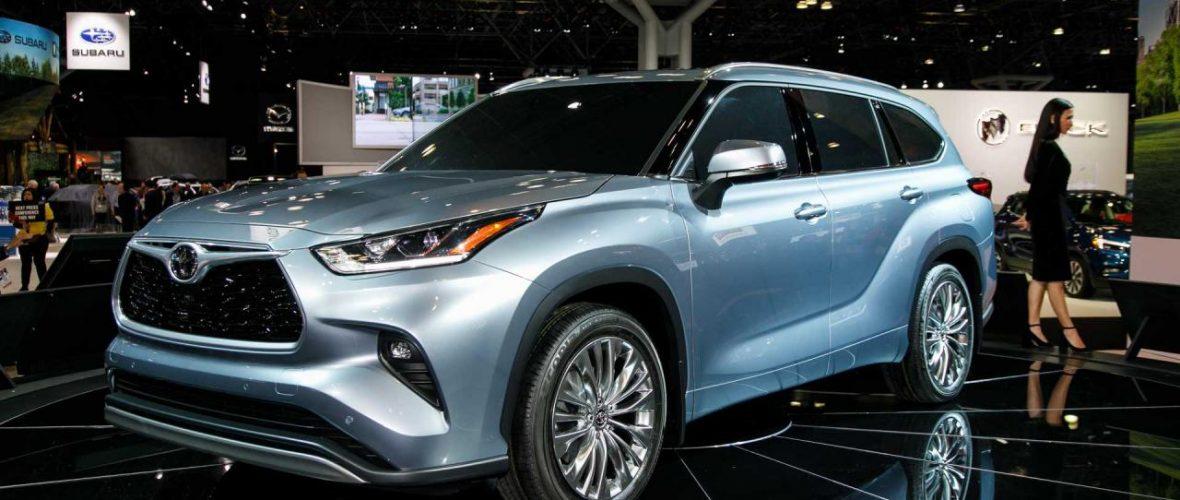 2020 Toyota Highlander Redesign Debut