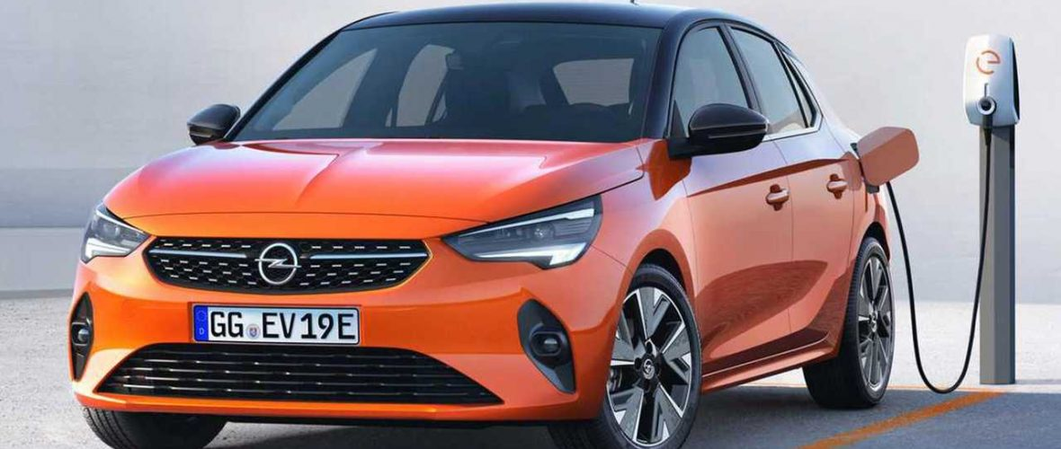 Electric Opel Corsa, long-term rental from 279 euros per month