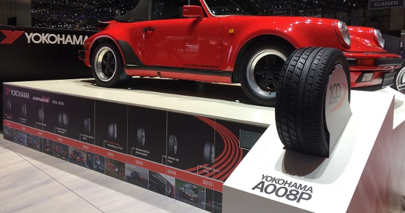 Yokohama adds new tires, retro design, sizes 16 - 16 inches for classic 1960s cars.