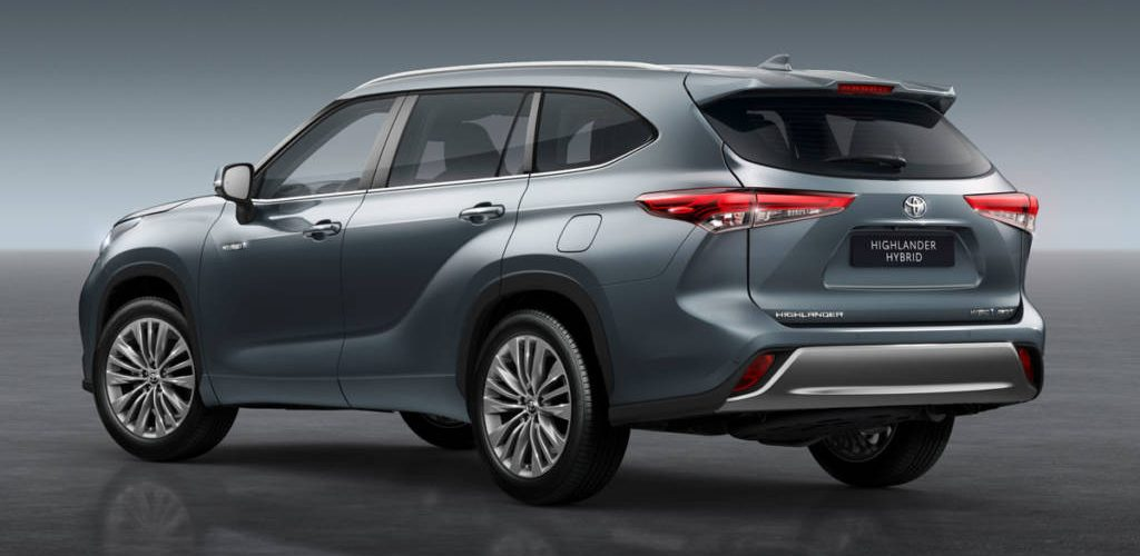 Toyota Highlander, 7-seater hybrid SUV Specs and Details