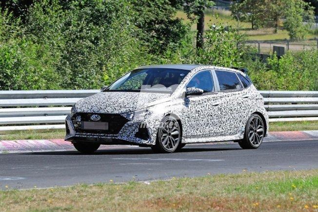 New spy photos of the new Hyundai i20 N