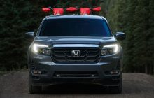 2021 Honda Ridgeline Redesign, More muscular front and a slightly reworked rear portio