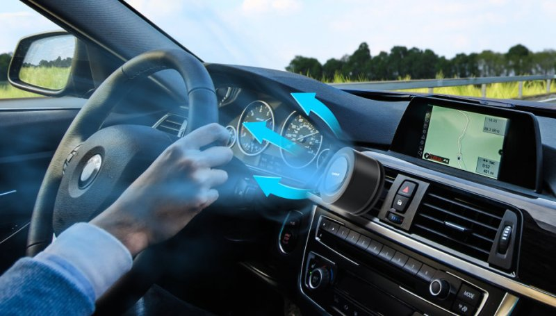 How do LED car air purifiers work? It can destroy viruses and odors