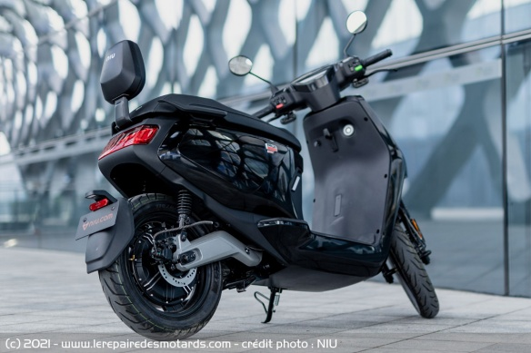 Niu MQi GT Electric Scooter Specs and Details