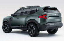 The square SUV will be Dacia's top model