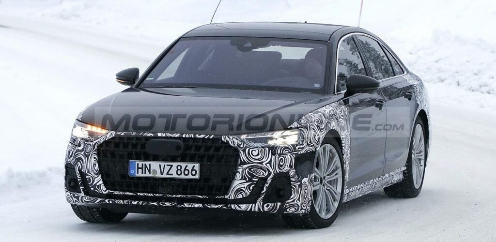 Audi A8 2022 Redesign : first SPY PHOTOS