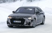 Audi A8 2022 Redesign : first SPY PHOTOS