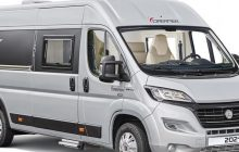 Dreamer D60, the van with electric drop-down bed
