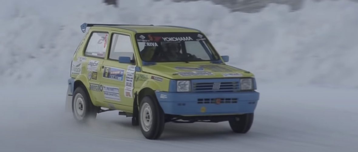 Fiat Panda 4X4 Drift in Ice Track