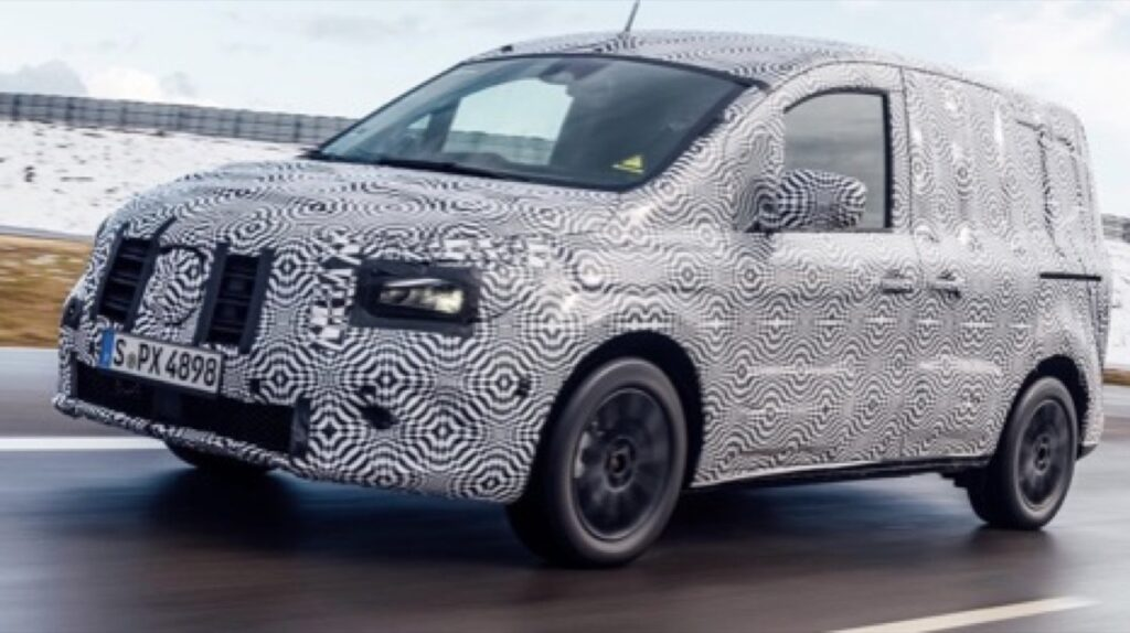 Mercedes eCitan: anticipated the new electric Van for the cit