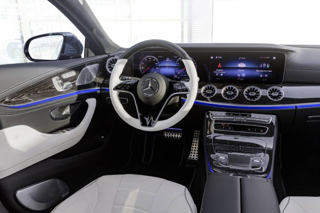2022 Mercedes Benz CLS more sporty,