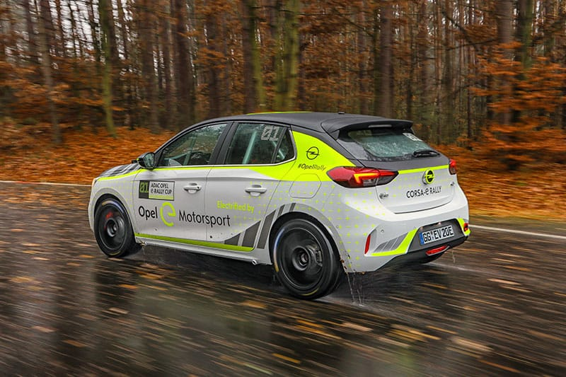 Opel develops a novel artificial sound system for its electric rally cars