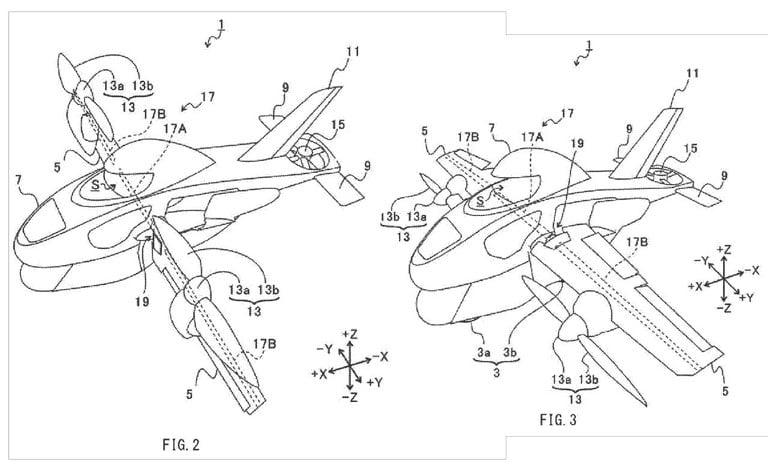 Subaru designs a flying motorcycle