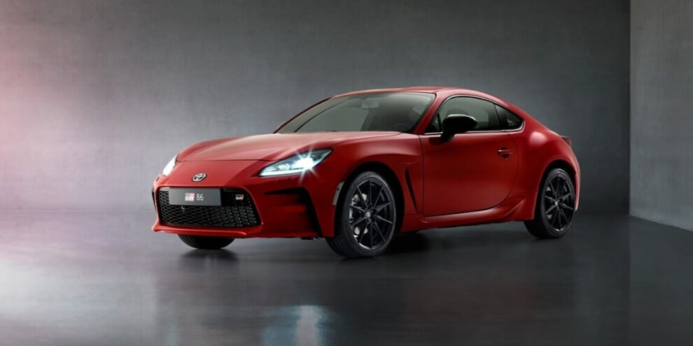 Toyota GR 86 Changes, Features but not the font