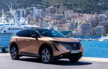 first public appearance for the Nissan Ariya 2022