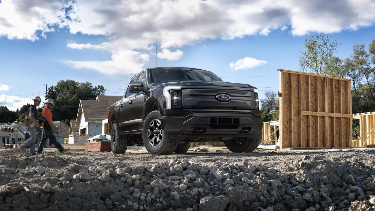 Ford F-150 Lightning Pro: $ 58,000, Specs, Features & Details