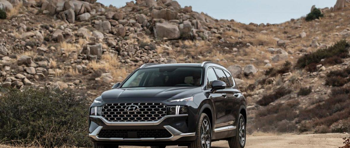 The 2022 Hyundai Santa Fe receives the Top Safety Pick + award