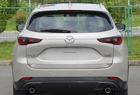 The Mazda CX-5 2022 shows its facelift a few months before its premiere