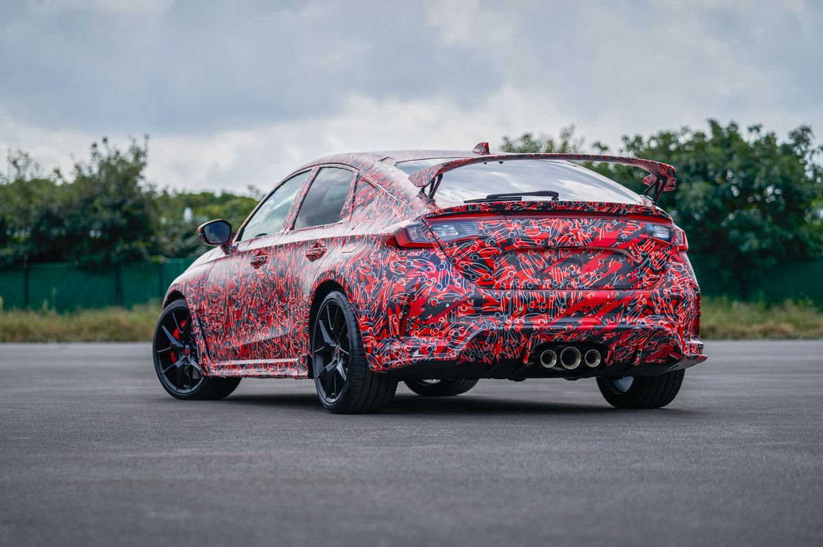 2022 Honda Civic Type R: New Images Show Spoiler Retained